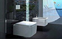 Kera Top modernes Wandhängendes WC mit WC Sitz und Softclose