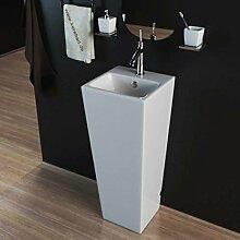KERABAD Design Keramik Standwaschbecken Waschtisch