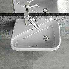 KERABAD Design Keramik Waschbecken Waschtisch