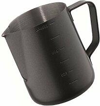 Kerafactum® - Black Barista Sahnekännchen Milch