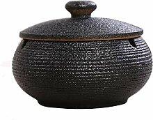 Keramik Aschenbecher Für Draußen Mit Deckel