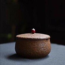 Keramik Aschenbecher Mit Deckel,Standaschenbecher
