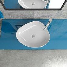 Keramik Aufsatzwaschbecken Waschtisch Waschschale