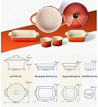 Keramik Backblech 5er Set,