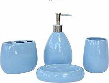 Keramik Badezimmer Badezimmer Badezimmer waschen Set Set,Khaki