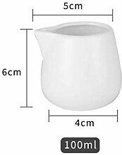 Keramik Beefsteak Soße Boot Weiß Porzellan