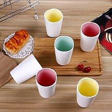 Keramik Coffee Milk Cup Set Becher Kreatives