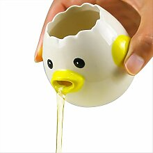 Keramik-Eiertrenner zum Backen kreativer