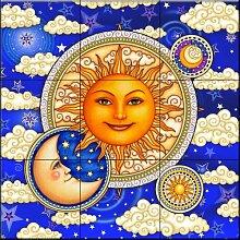 Keramik Fliesen - Celestial Beauty - von Dan