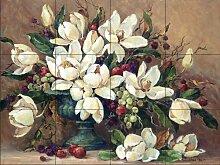 Keramik Fliesen - Floral Elegance - von Barbara