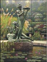 Keramik Fliesen - The Fountain Li- von John