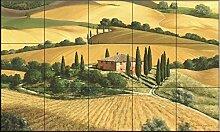 Keramik Fliesen - Tuscan Gold von Michael Swanson