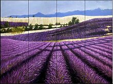Keramik Fliesen - Tuscan Lavendel - von Malenda