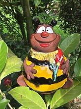 Keramik Gartenstecker Gartenkugel Blumenstecker