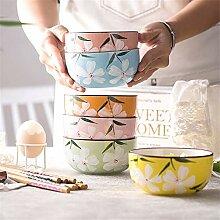 Keramik-Geschirr-Set für Haushalt, Reisschale,