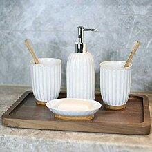 Keramik Haushaltswaren Badezimmerzubehör,