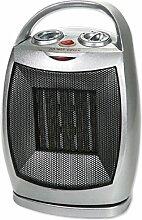 Keramik Heizlüfter | 3 Stufen (kalt,warm,heiß) | Elektroheizer | Heizgerät | Elektroheizung | Thermostat | Oszillierend - Rotation | 2 Leistungsstufen: 750/1500 Watt | Überhitzungsschutz