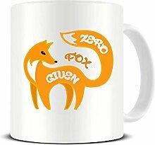 Keramik-Kaffeebecher, Motiv: Zero Fox Given –