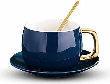 Keramik Kaffeetasse Set Tee-Tasse und Untertasse