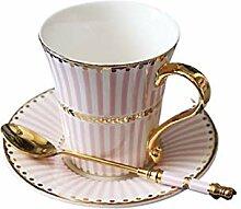 Keramik Kaffeetasse und Saucer erlesene