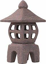 Keramik-Laterne für Teelicht in Steinoptik,