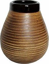 Keramik Mate Becher zu Trinken, Yerba Mate Nahrungsergänzungsmittel