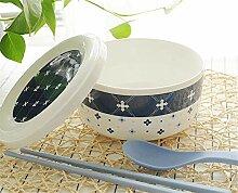 Keramik mit Deckel Instant Nudelsch¨¹ssel