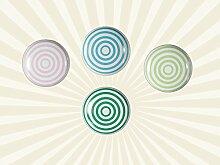 Keramik Möbelknopf - Spiral