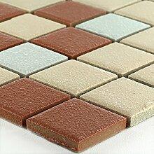 Keramik Mosaik Rutschhemmend Terrakotta