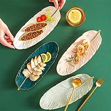 Keramik Obstteller Dessertteller Set für vier