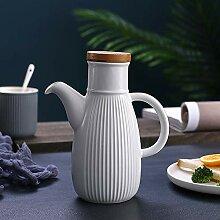 Keramik Öl Flaschen, Auslaufsicher Olivenöl