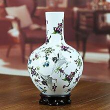 Keramik Pastell Schnee Vase Heimtextilien modern Living Room Decoration technische Studie Ornamente-M