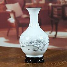 Keramik Pastell Schnee Vase Heimtextilien modern Living Room Decoration technische Studie Ornamente-D