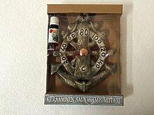 Keramik Sauna Thermometer Anker mit aromatischen Essenz