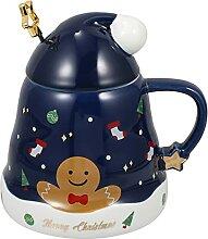 Keramik Tasse Kaffeetassen Weihnachten Becher:
