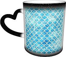 Keramik Tasse Mehofoto Blue Glitter Fotografie