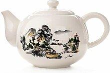Keramik Tee-Set 170Ml Porzellan Teekanne Tasse Mit