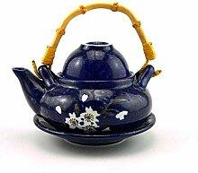 Keramik Tee-Set 300 Ml Keramik Porzellan Teekanne