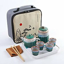 Keramik-Tee-Set des Chinesischen Stils