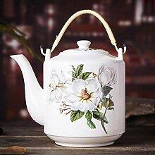 Keramik Tee-Set Keramik Teekanne Große Kapazität