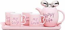 Keramik Tee-Set Mode Britische Keramik Kaffeetasse