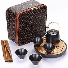 Keramik Teekanne Kettle e Set Porzellan Ein Topf