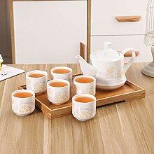 Keramik Teekanne Kettle e Set Porzellan Haushalt