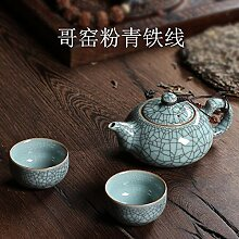 Keramik Teekanne Kettle e Set Porzellan