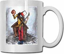 Keramik Teetasse Kaffeetassen Buckethead Becher