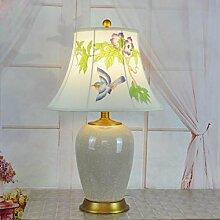 Keramik Tischlampe Wohnzimmer Studie Hotel Lampe