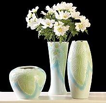 Keramik-vase,Chinesische keramik 3 sätze