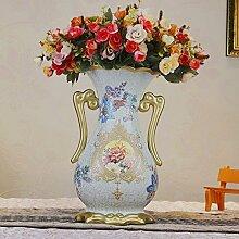 Keramik Vase europäischen Wohnzimmer für Mittelstücke Wohnzimmer Weihnachten Geburtstag Hochzeit Party Geschenk Desktop Home Decor