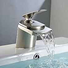 Keramik Ventil Wasserhahn Moderne Silber