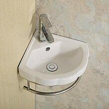 Keramik-Waschbecken Kleine Wandhalterung Sink